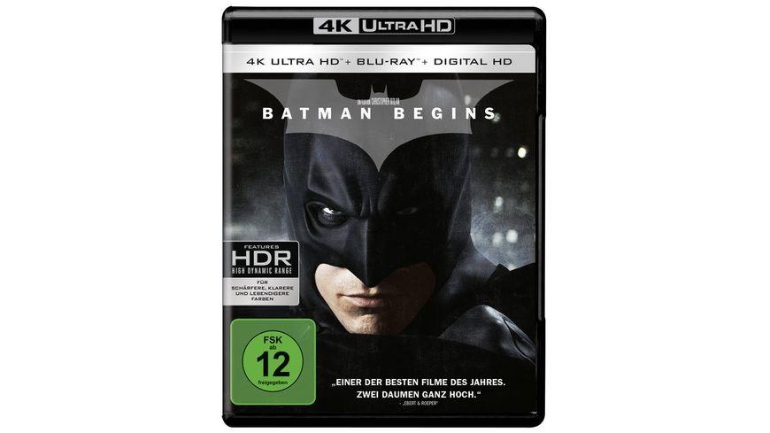 Batman Begins 4K Ultra HD 2 Blu rays