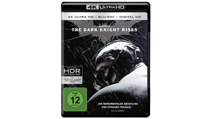 The Dark Knight Rises 4K Ultra HD 2 Blu rays