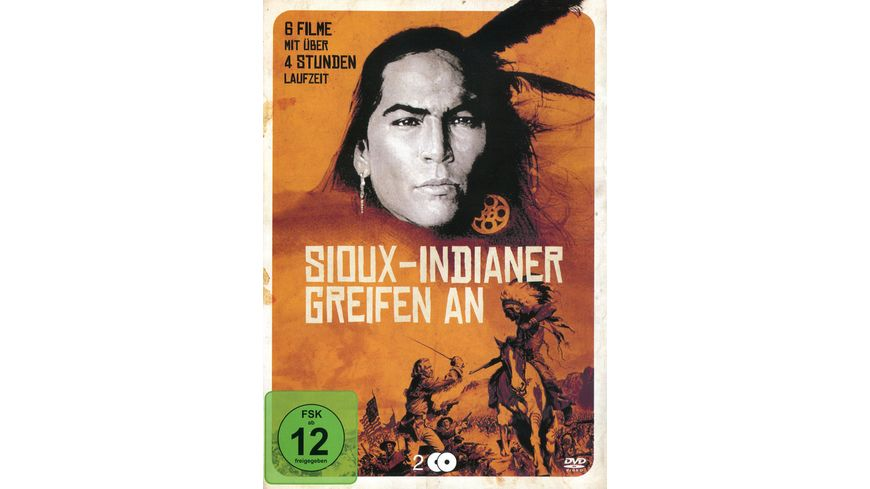 Sioux Indianer greifen an 2 DVDs