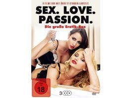 Sex Love Passion 3 DVDs