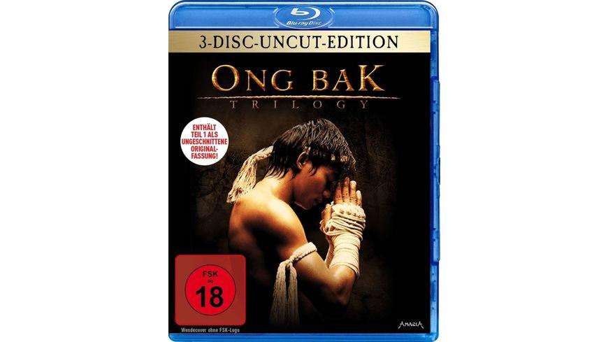ONG BAK Trilogy Uncut 3 BRs