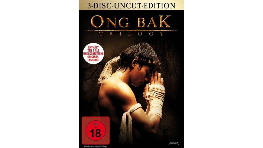 ONG BAK Trilogy Uncut 3 DVDs