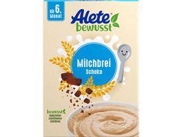 Alete Beikost Milchbrei Schoko
