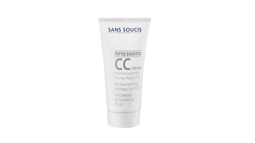 SANS SOUCIS CC Cream Hautkorrigierende Anti Age Pflege LSF 20