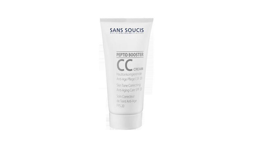 SANS SOUCSI CC Cream hauttonkorrigierende Anti Age Pflege LSF 20