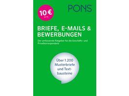 PONS Briefe E Mails Bewerbungen