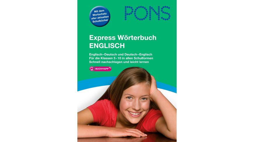 PONS Express Woerterbuch Englisch