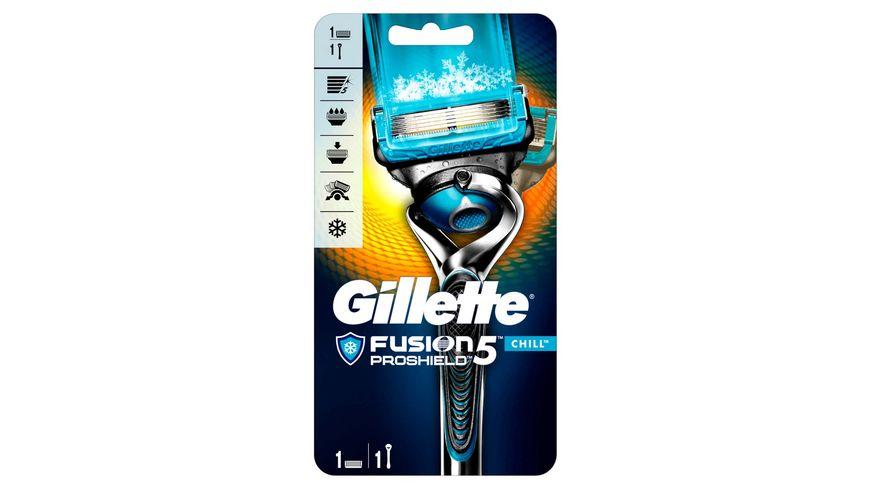 Gillette Fusion5 Proshield Chill Rasierapparat