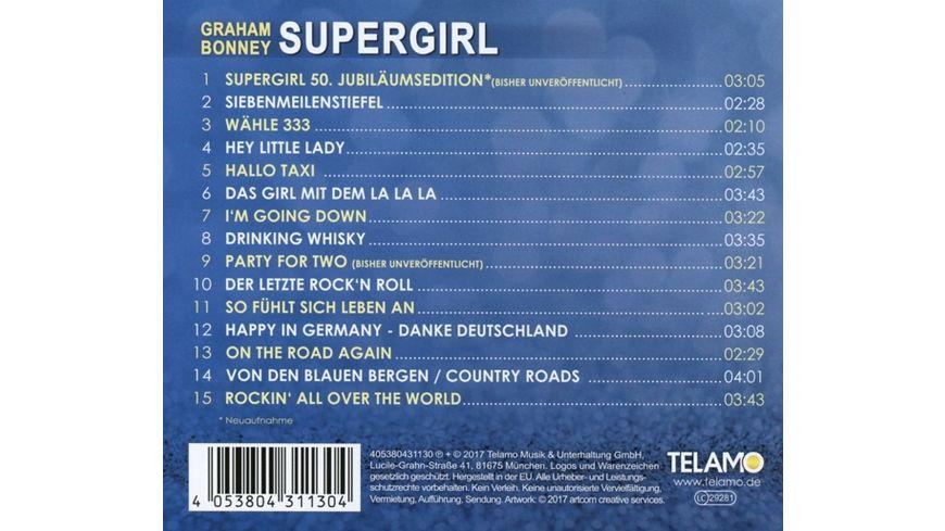 Supergirl Die groessten Hits von Graham Bonney