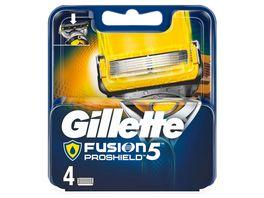 Gillette Fusion5 Proshield Hautschutz Systemklingen 4er