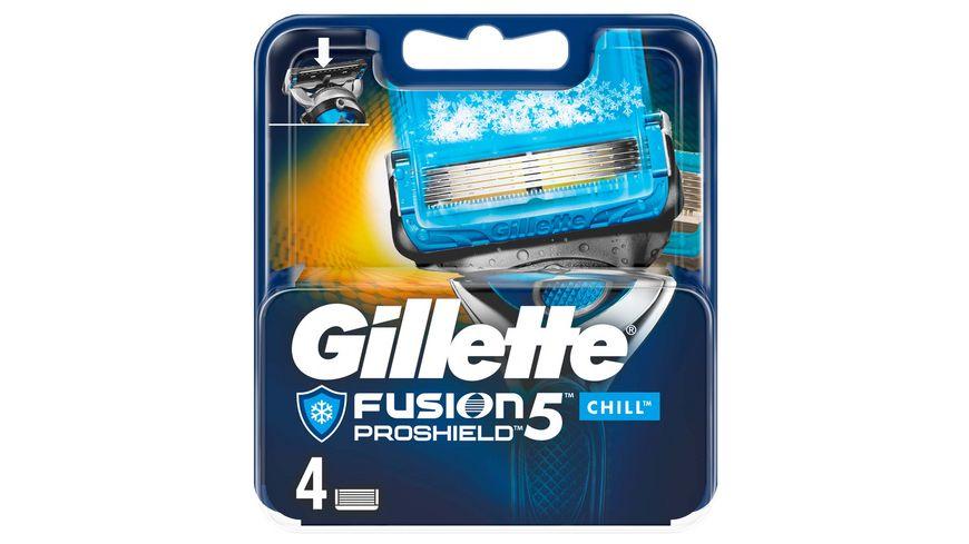 Gillette Fusion5 Proshield Chill Systemklingen 4er