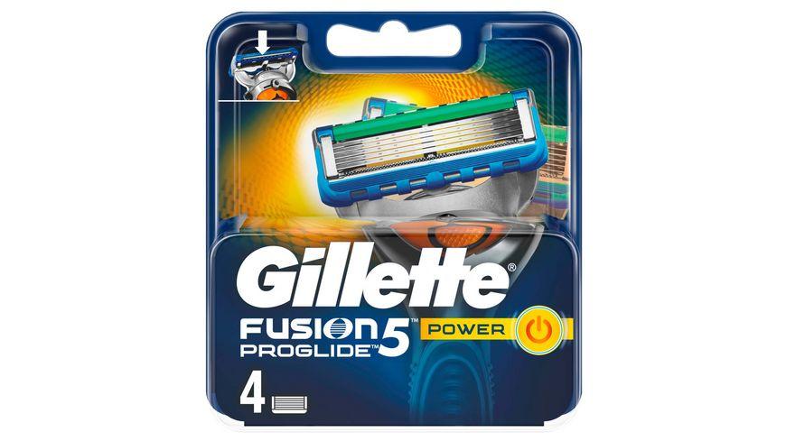 Gillette Fusion5 ProGlide Power Systemklingen 4er