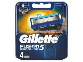 Gillette Fusion5 ProGlide Systemklingen 4er