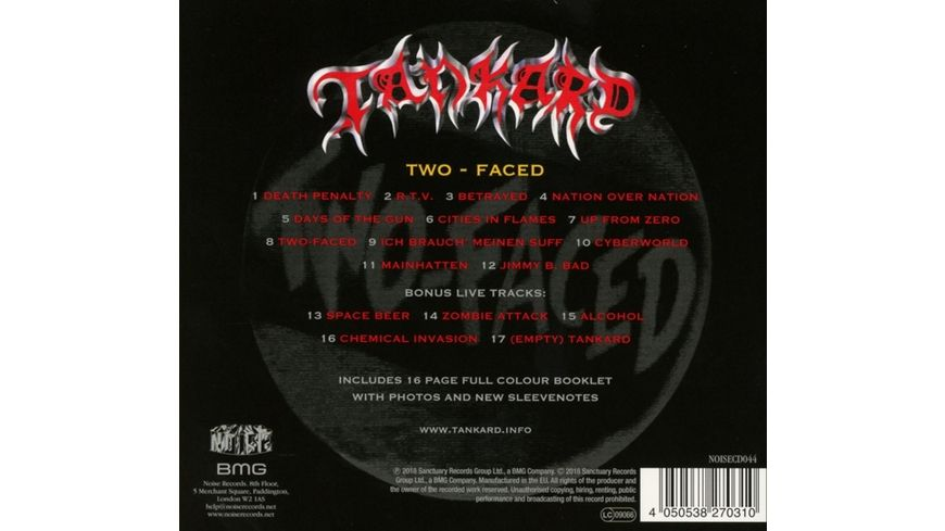 Two Faced Deluxe Edition
