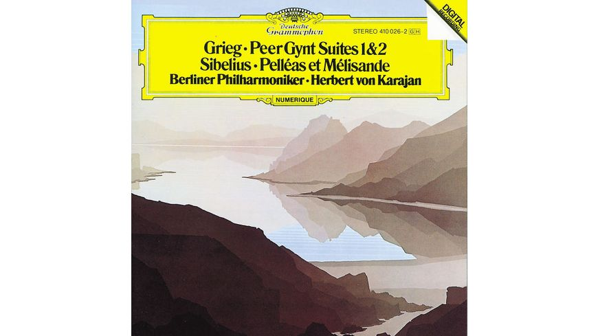 Peer Gynt Suiten 1 2 Pelleas Et Melisande