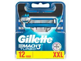 Gillette Mach3 Turbo Systemklingen 12er