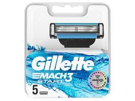 Gillette Mach3 Start Systemklingen 5er