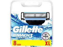 Gillette Mach3 Start Systemklingen 8er
