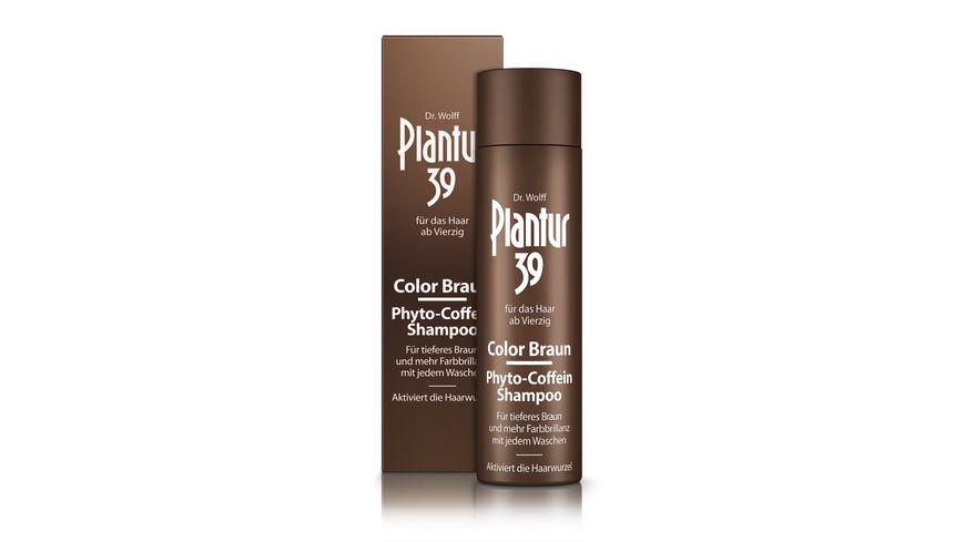 Plantur 39 Color Braun Phyto Coffein Shampoo