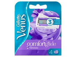 Gillette for Women Venus Comfortglide Breeze Systemklingen 4er