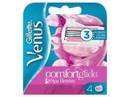 Gillette for Women Venus Comfortglide Breeze Spa Systemklingen 4er