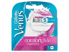 Gillette for Women Venus Comfortglide Sugarberry Systemklingen 3er