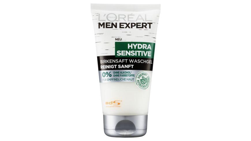 L OREAL PARIS MEN EXPERT Waschgel Hydra Sensitive Birkensaft