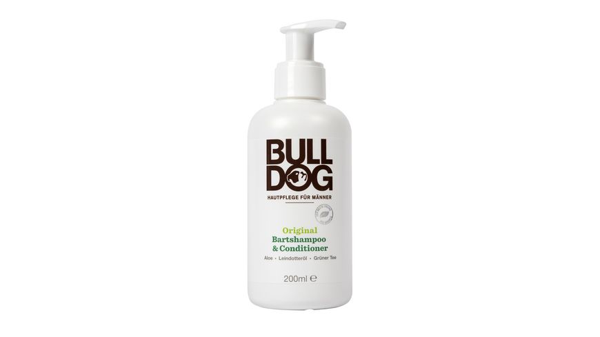 BULLDOG Original Bartshampoo Conditioner