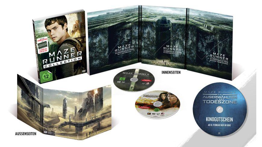 Maze Runner Collection inkl Kinogutschein fuer Teil 3