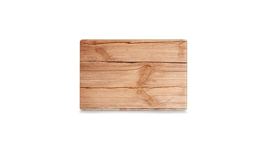 zeller Glasschneideplatte Wood