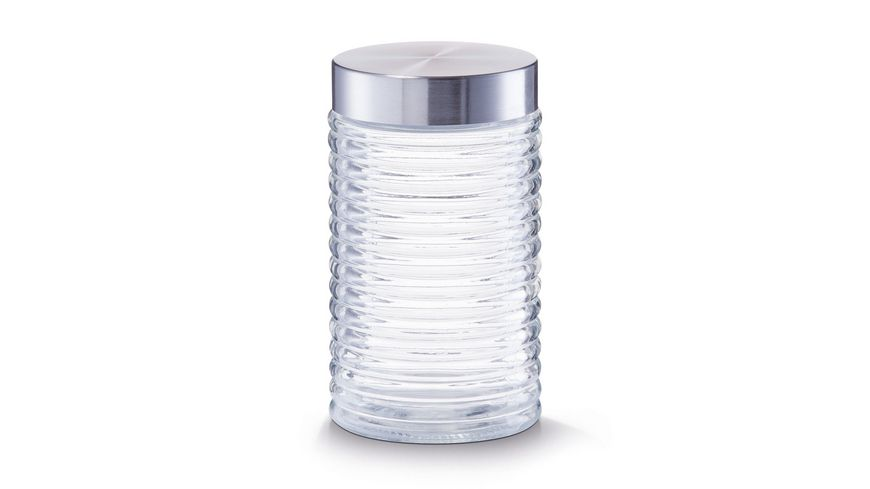 zeller Vorratsglas gerillt 1 l