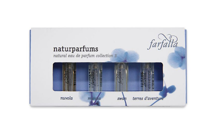 Farfalla Geschenkset Naturparfums Collection 3