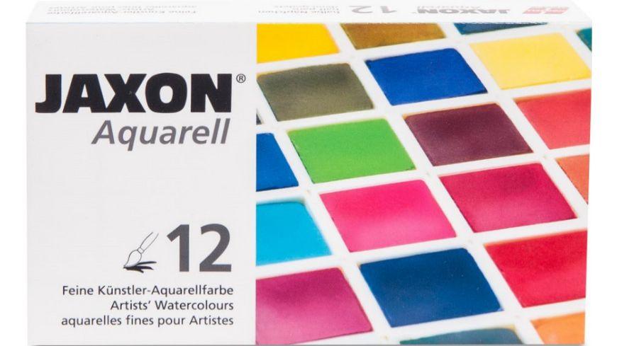 JAXON Aquarellkasten 12er