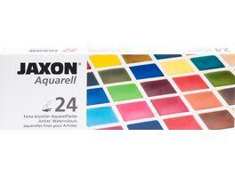 JAXON Aquarellkasten 24er