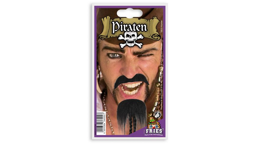 Fries Piraten Bart