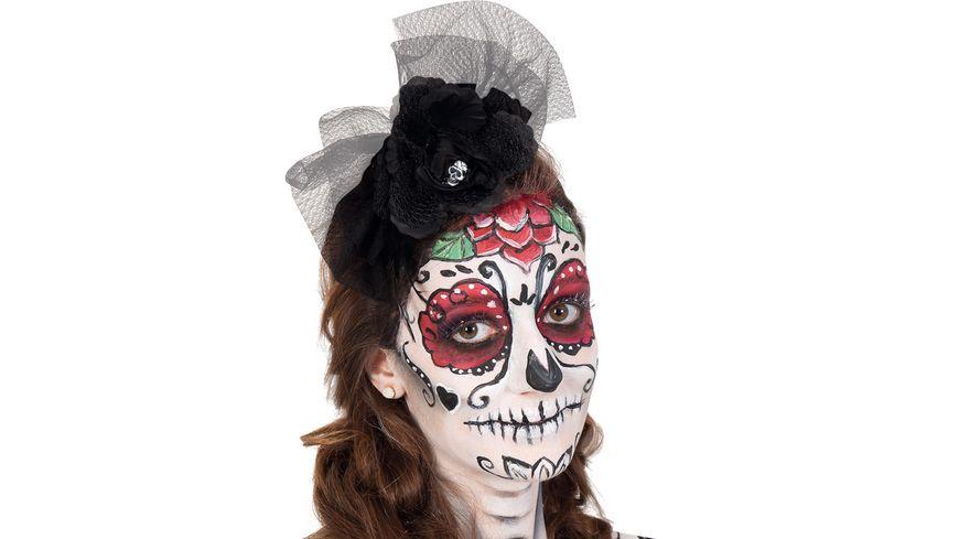 Fries Haarreif mexikanischer Totentag