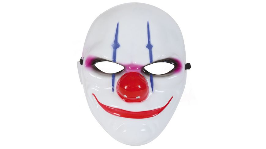 Fries Clown Maske