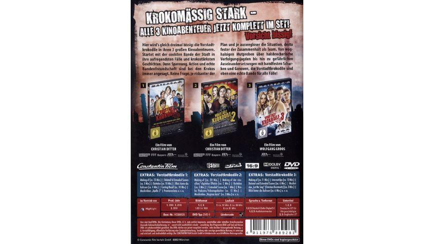 Vorstadtkrokodile Teil 1 3 3 DVDs