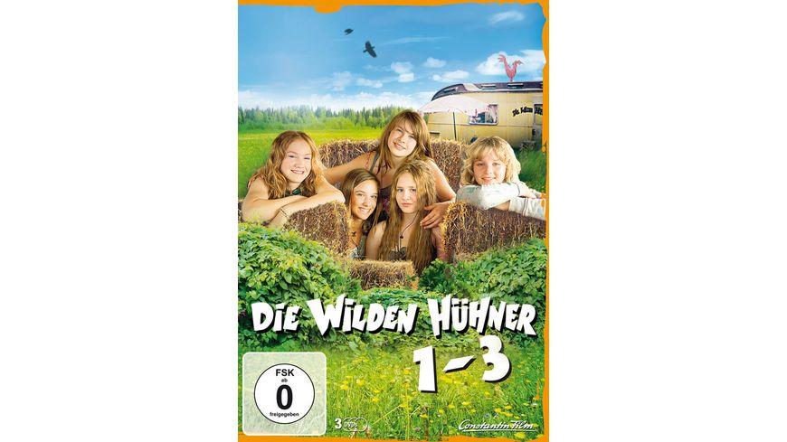 Die wilden Huehner Teil 1 3 3 DVDs