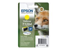 Epson Druckerpatrone T1284 gelb