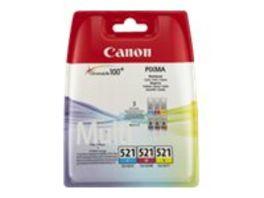 Canon Druckerpatrone CLI 521 Multipack