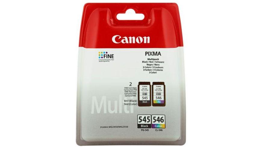Canon Druckerpatrone PG-545/CL546 schwarz + 3 Farben