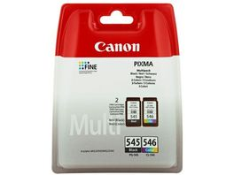 Canon Druckerpatrone PG 545 CL546 schwarz 3 Farben