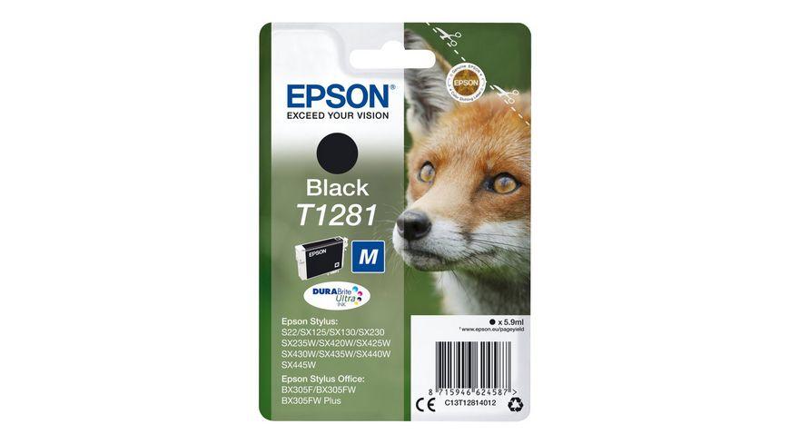 Epson Druckerpatrone T1281 schwarz