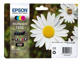 Epson Druckerpatrone 18XL Multipack schwarz