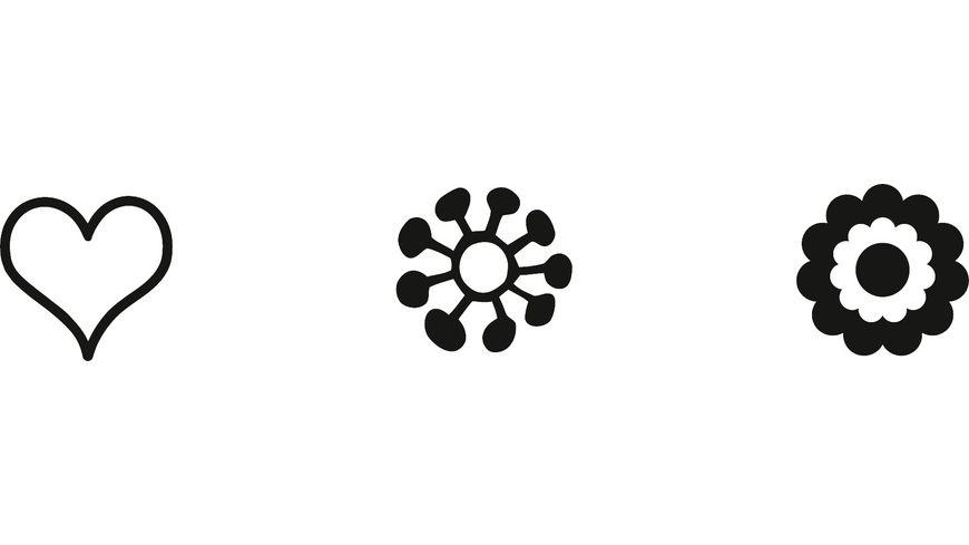 HEYDA Stempelset Mini Blume