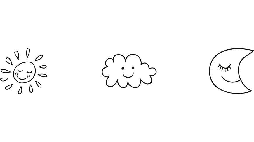 HEYDA Stempelset Mini Himmel