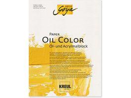 KREUL Solo Goya Kuenstlerblock Paper Oil