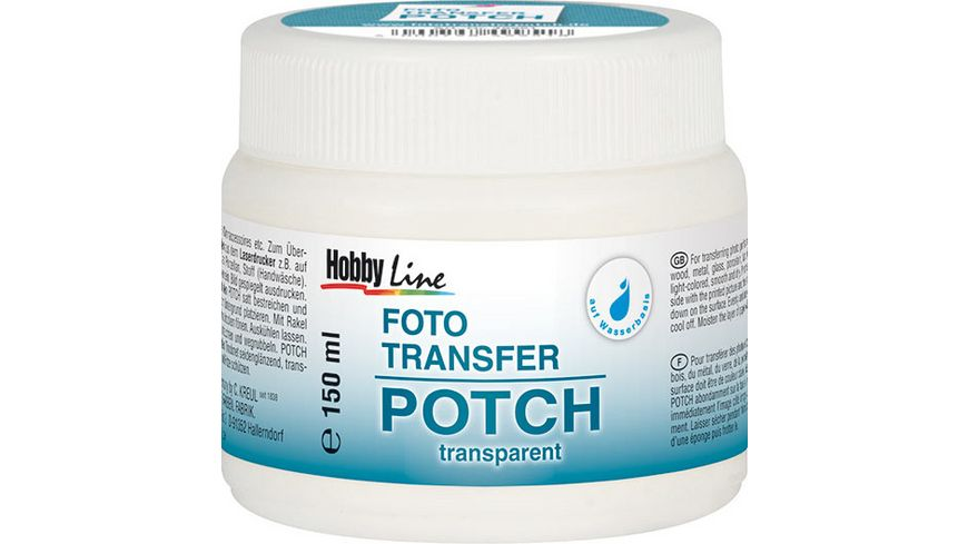 KREUL Hobby Line Foto Transfer Potch 150 ml