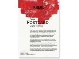 KREUL Kuenstlerblock Paper Postcard DIN A6
